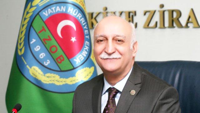 председатель Турецкого союза сельскохозяйственных палат Щемси Байрактар