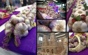 фестиваль чеснока в Кодуре (Франция)