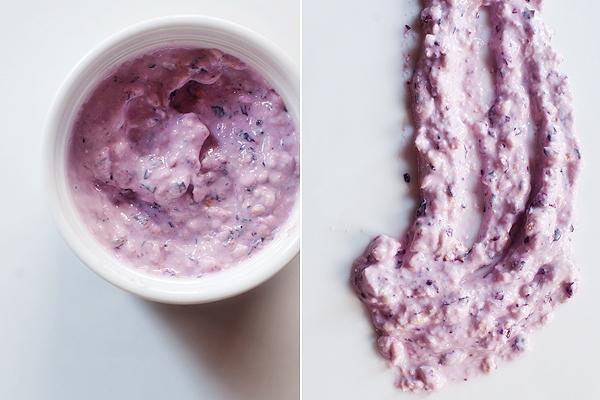 maska iz cherniki i yogurta
