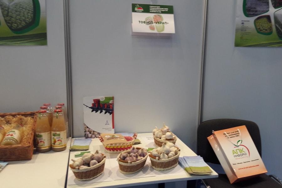 УкрАП с экспозицией чеснока на конференции Овощи и Фрукты 2016