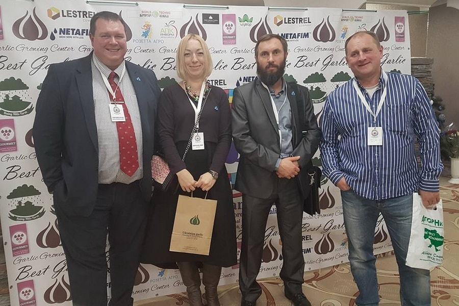 УкрАП на 3 международном конгрессе по выращиванию чеснока Бест Гарлик